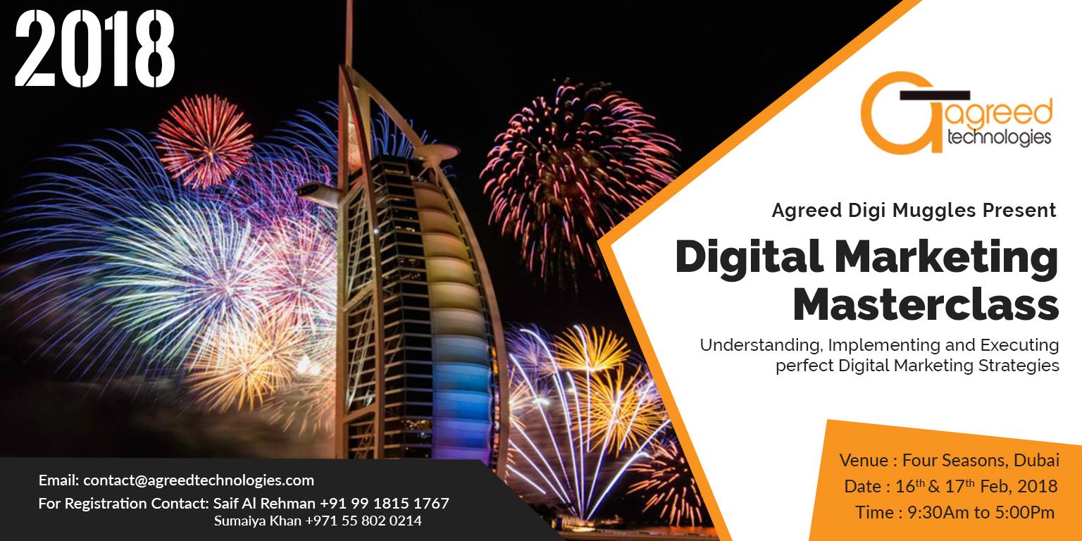 Digital Marketing Masterclass, Dubai - Agreed Technologies