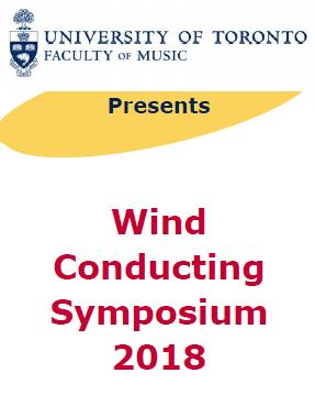 Wind Conducting Symposium 2018 3 Jul 2018
