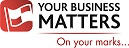 Your business matters logo with red flag