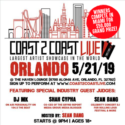 Coast 2 Coast LIVE - Orlando 5/21/19