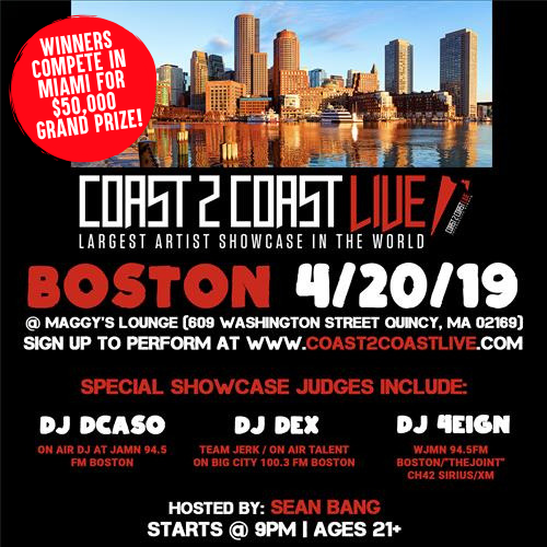 Coast 2 Coast LIVE - Boston 4/20/19