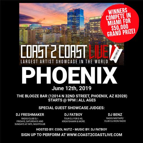 Coast 2 Coast LIVE - Phoenix 6/12/19