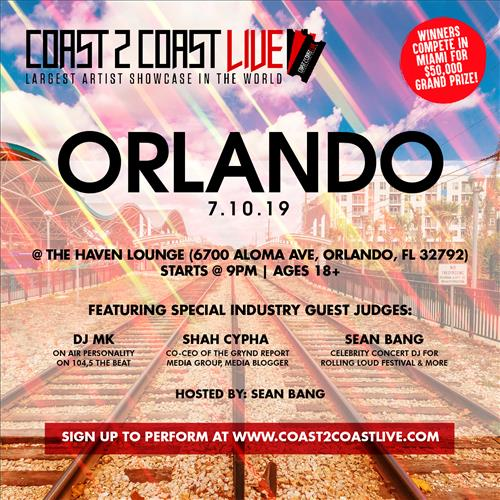 Coast 2 Coast LIVE Interactive Artist Showcase