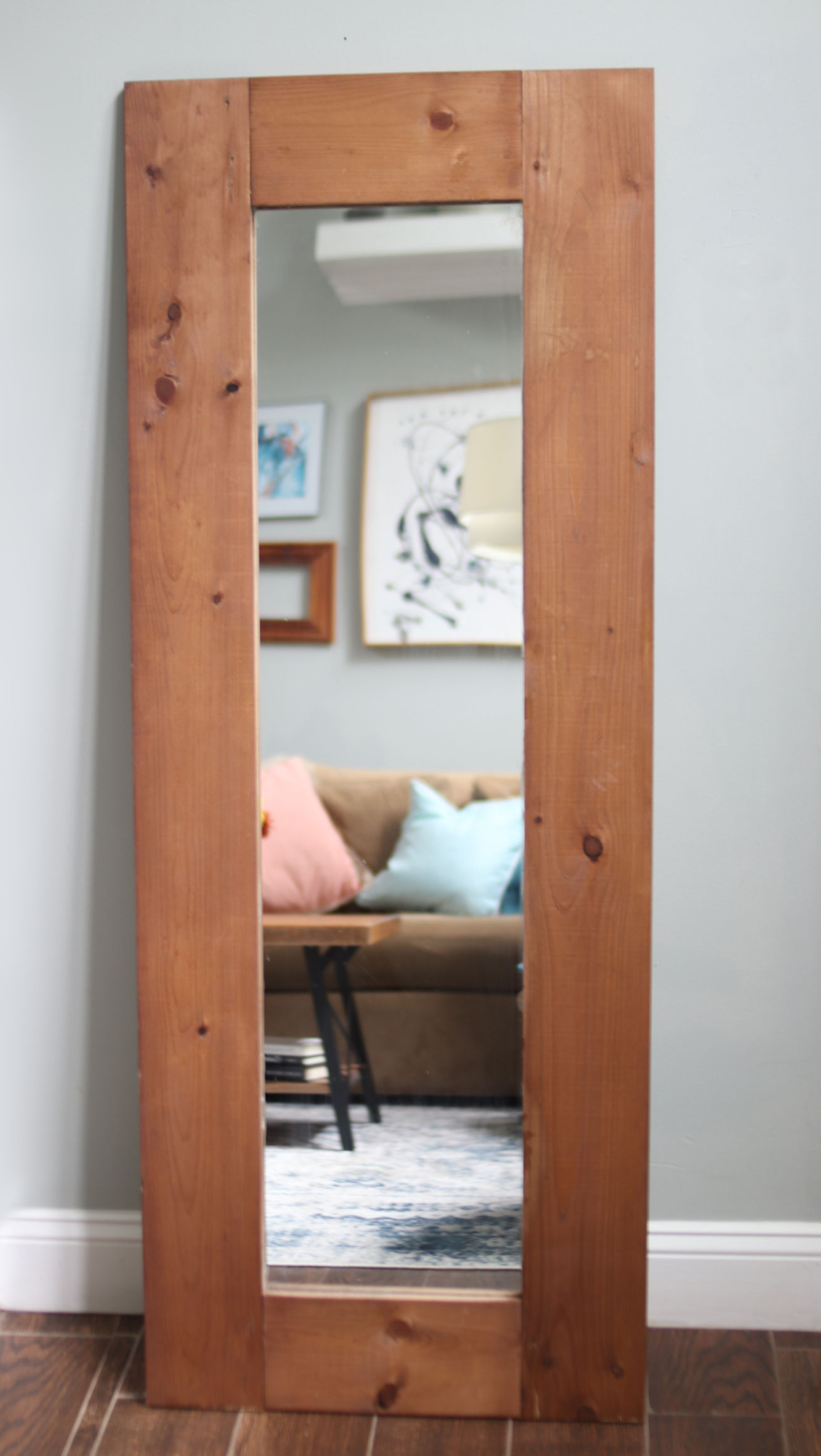 DIY Workshop - Build and Customize Full Length Mirror