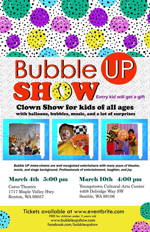 Bubble UP Show