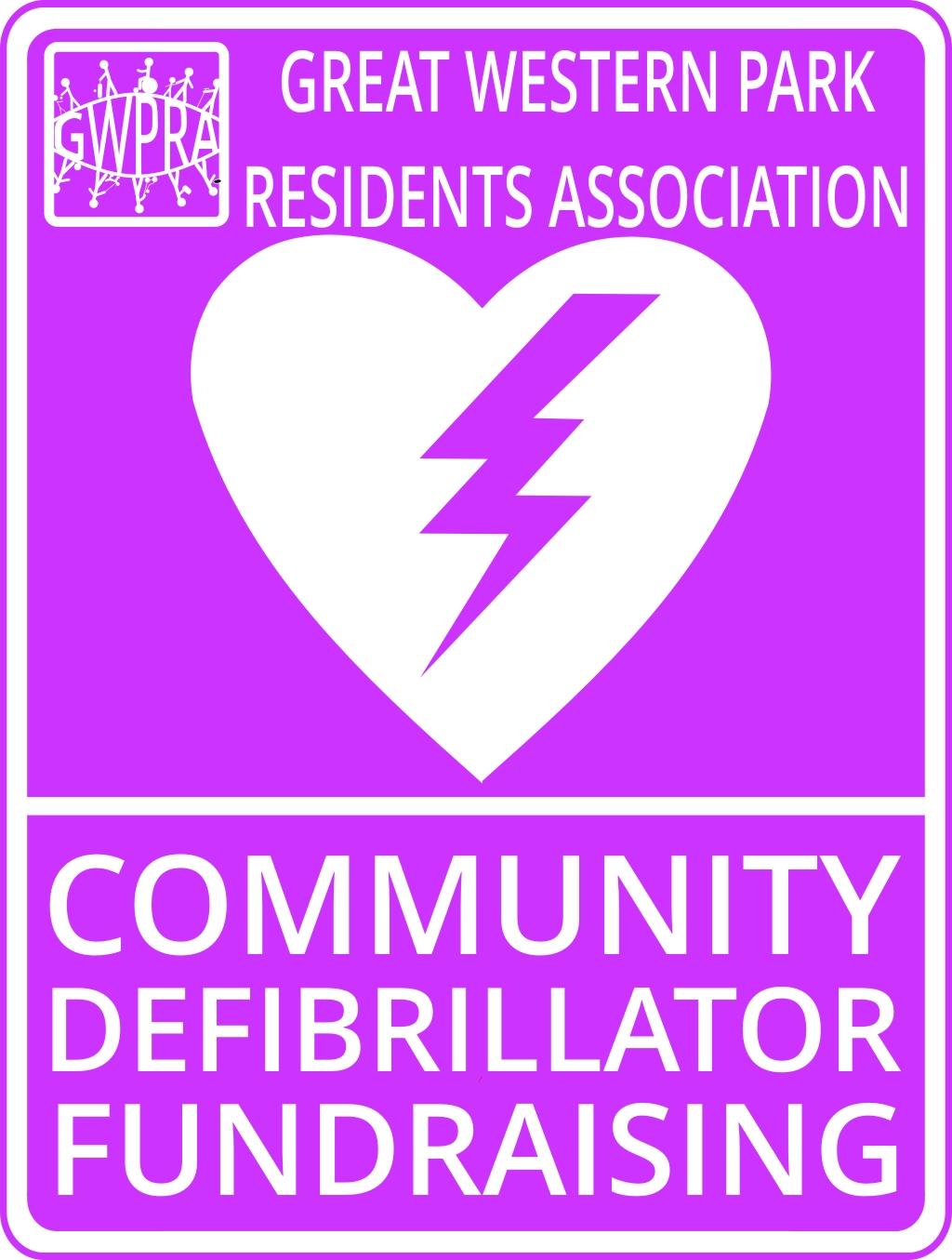 GWPRA Community Defibrillator Logo