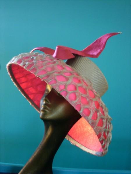 Advanced sinamay hat making workshop