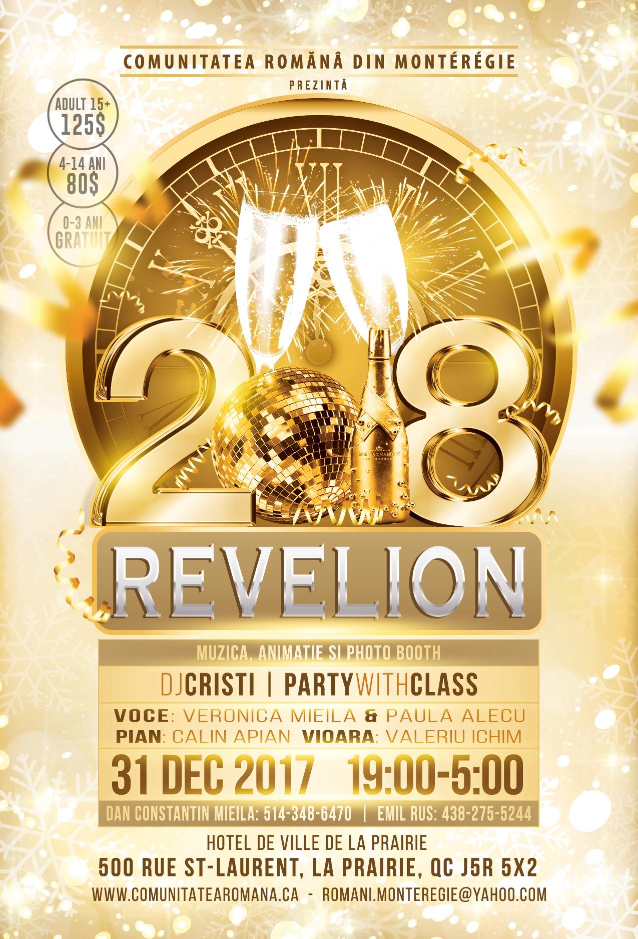 Revelion 2018 cu DJ Cristi & CRM p1