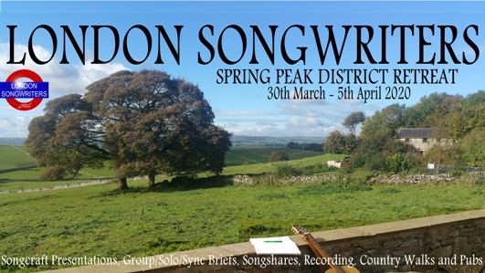 London Songwriters Spring Retreat 2020
