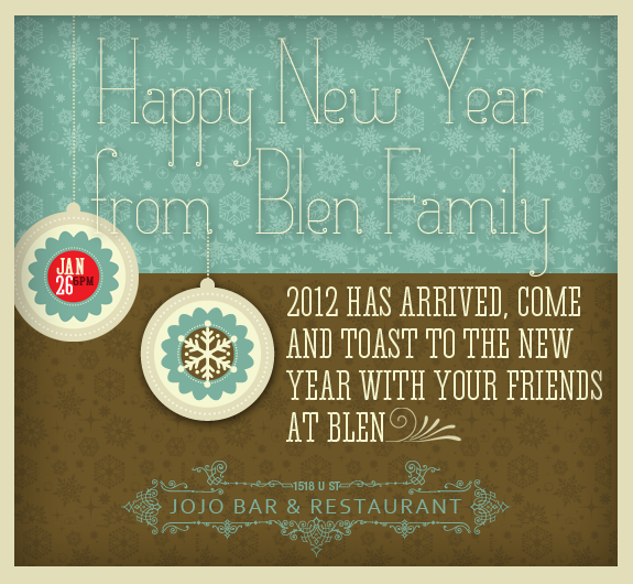 BLEN Happy Hour 2012