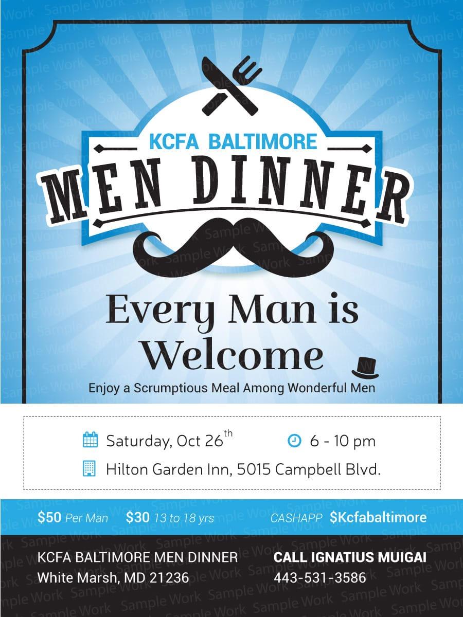 MEN DINNER