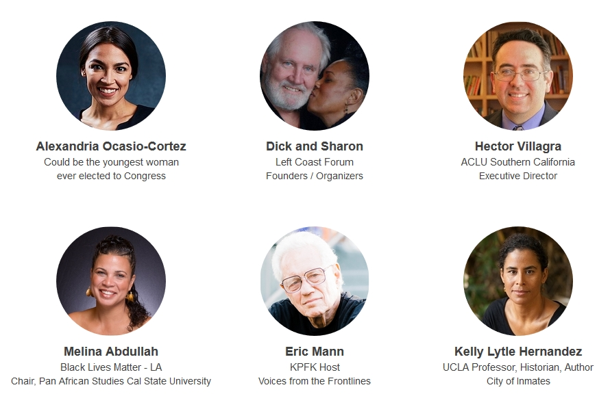 Left Coast Forum 2018 Keynote Speakers