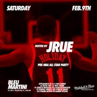 {Jrue Holiday} hosts **Private** Pre NBA All-Star Party w...
