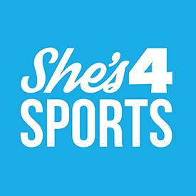 She's4sports logo