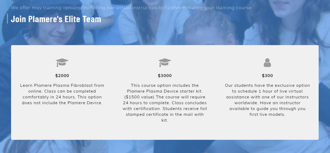 Plamere Online Training Options