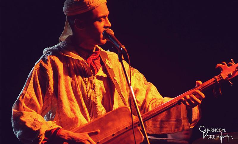 Chanteur des Gnawa Salamat