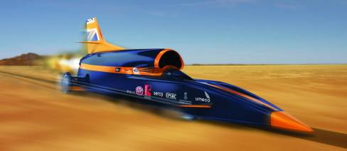 bloodhound ssc, supersonic car, swansea university
