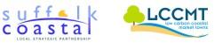suffolk coastal and low carbon coastal logos