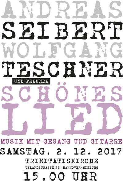 Seibert und Teschner live am 2. Dezember 2017 in der Trinitatiskirche