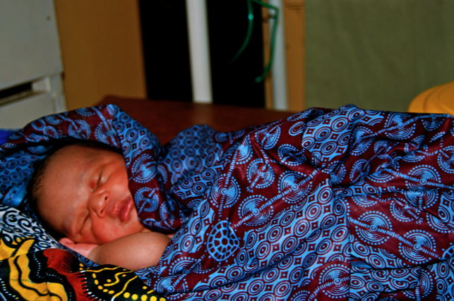 Health Baby Boy at Liberian Government Hospital