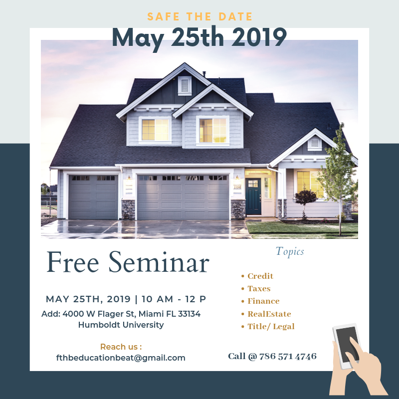 Free Education Seminar on Buying or Selling a Home
