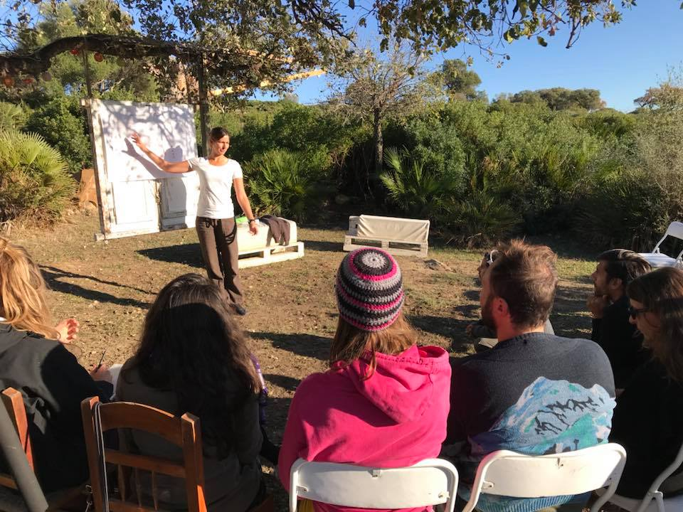 Majka Baur at Professional Path Workshop in Spain Tarifa