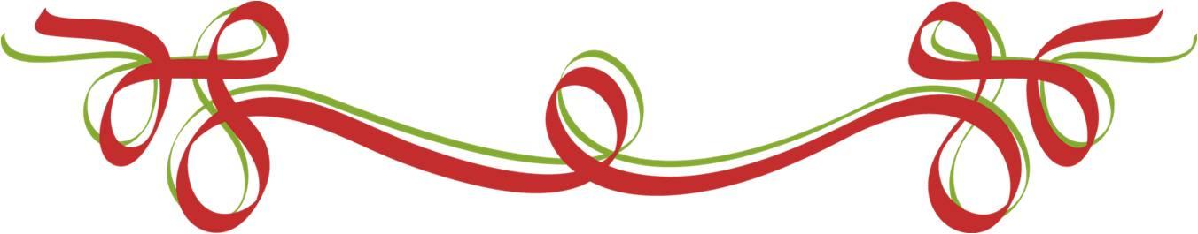 holiday ribbon