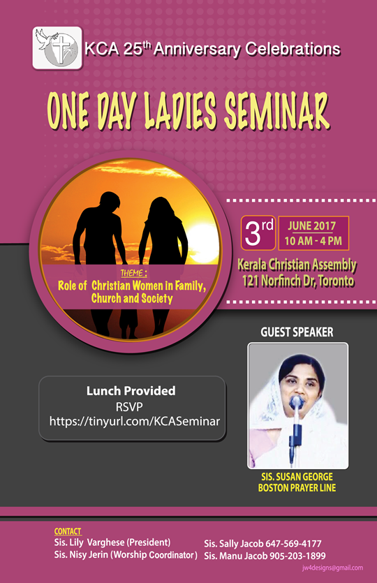 KCA ladies Seminar