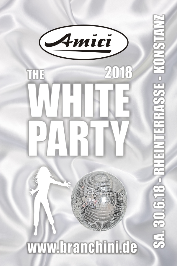Amici - White Party 2018