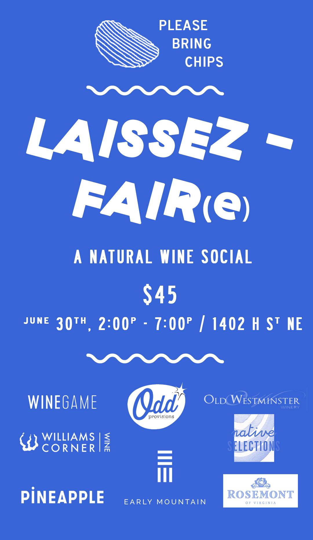 Laissez-Fair(e) Wine Event