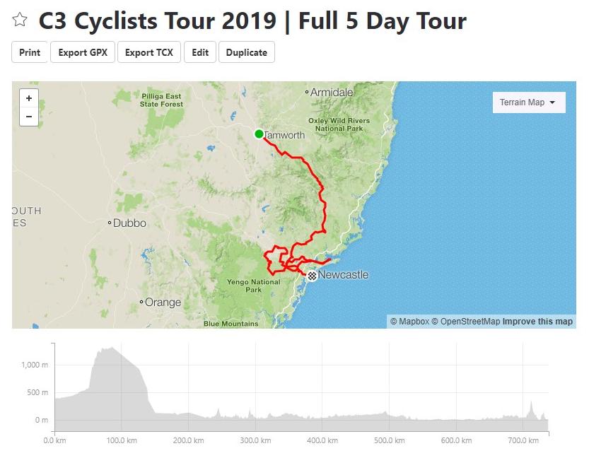 5 Day Tour