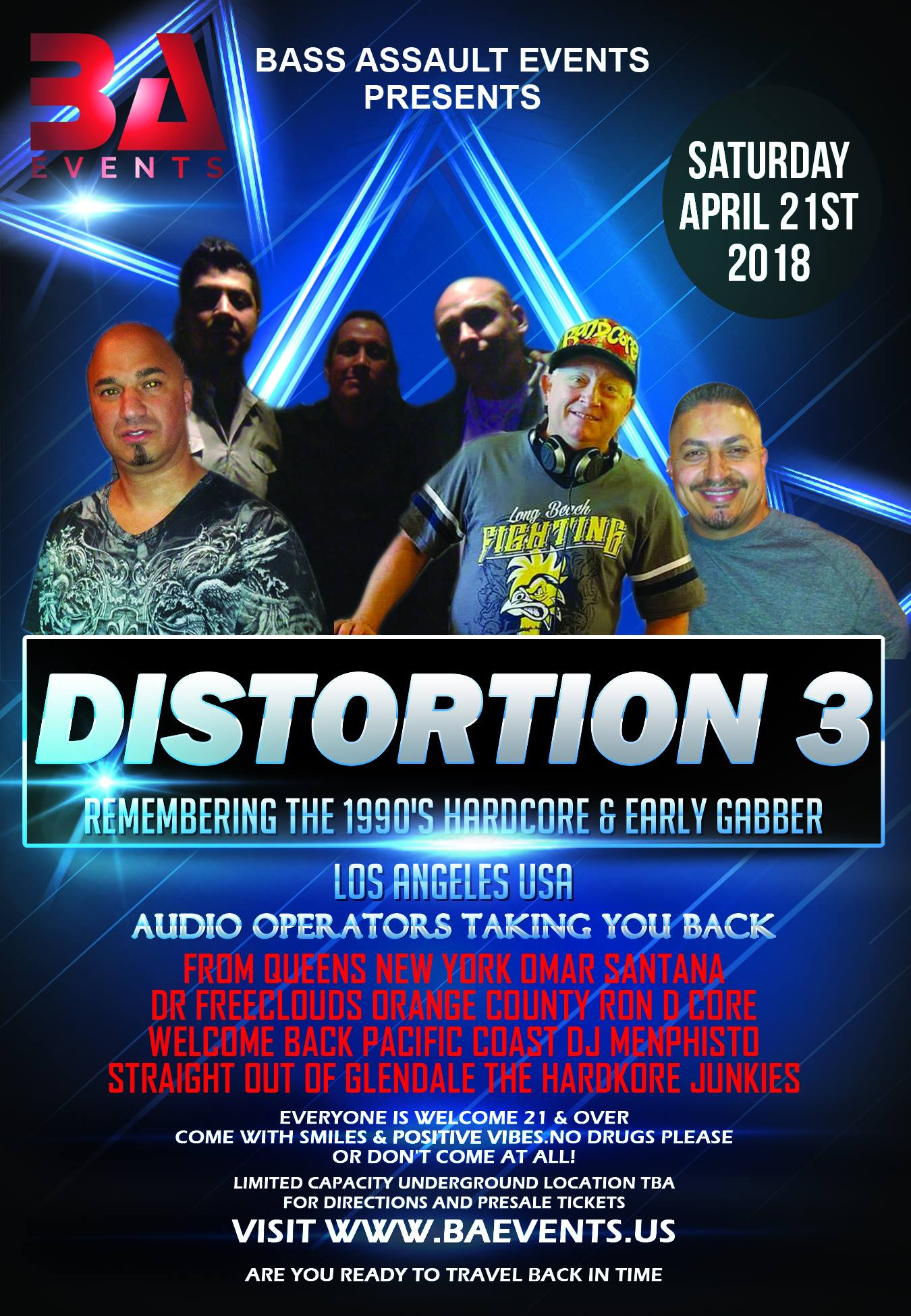 distortion 3 -remembering the 1990s hardcore and early gabber