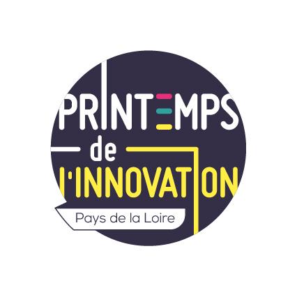 Logo du Printemps de l'innovation en Pays de la Loire