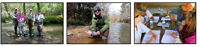 The best place to learn fly fishing...
