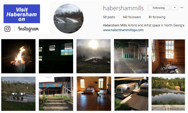 Visit Habersham Mill on Instagram...