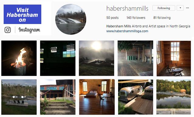 Visit Habersham Mill on Instagram...
