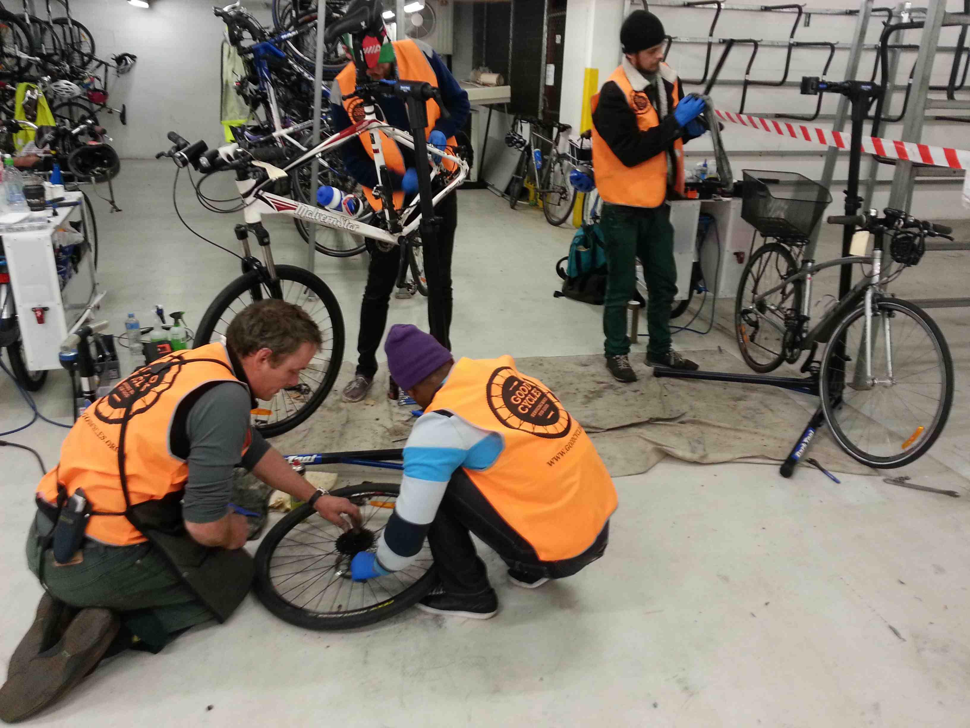 Good Cycles Mechanics Training