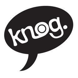 Knog B&W Speech Box Logo