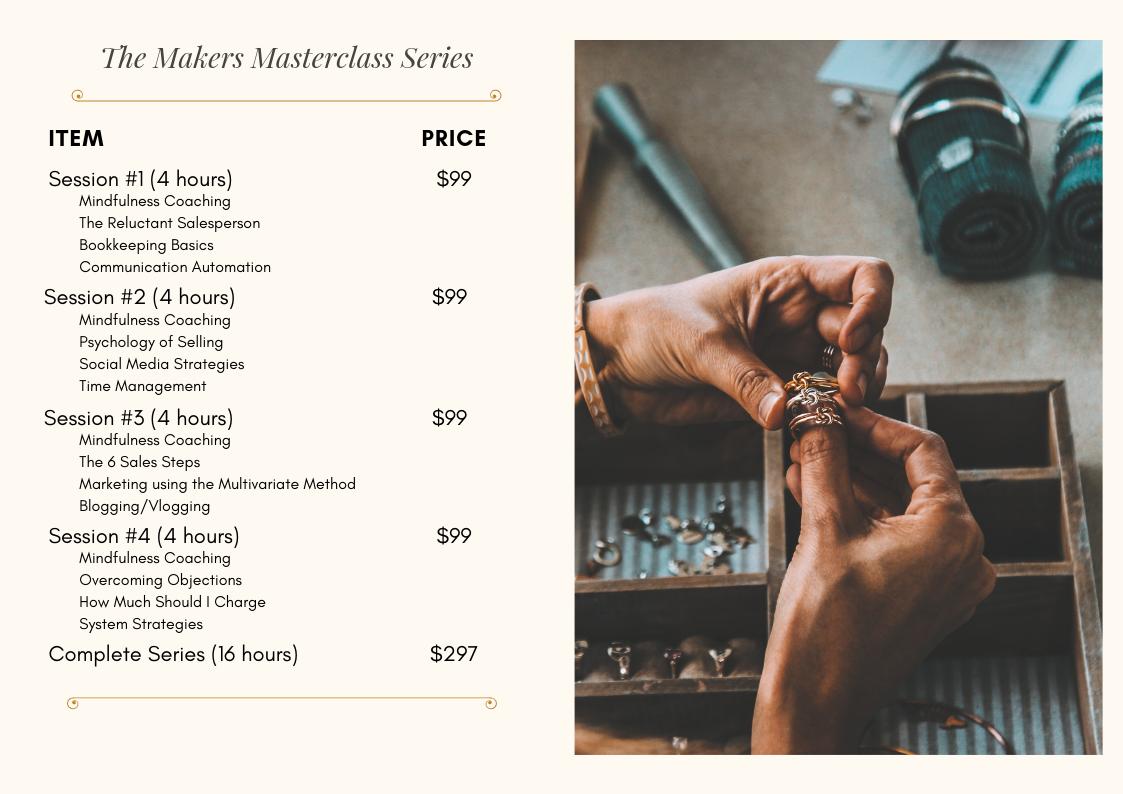Maker Masterclass