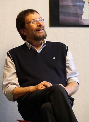 Wolfgang Keuter erzählt über Slow Acting. Foto: Gianni Sarto