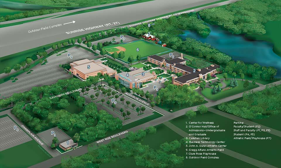 SJC Campus Map