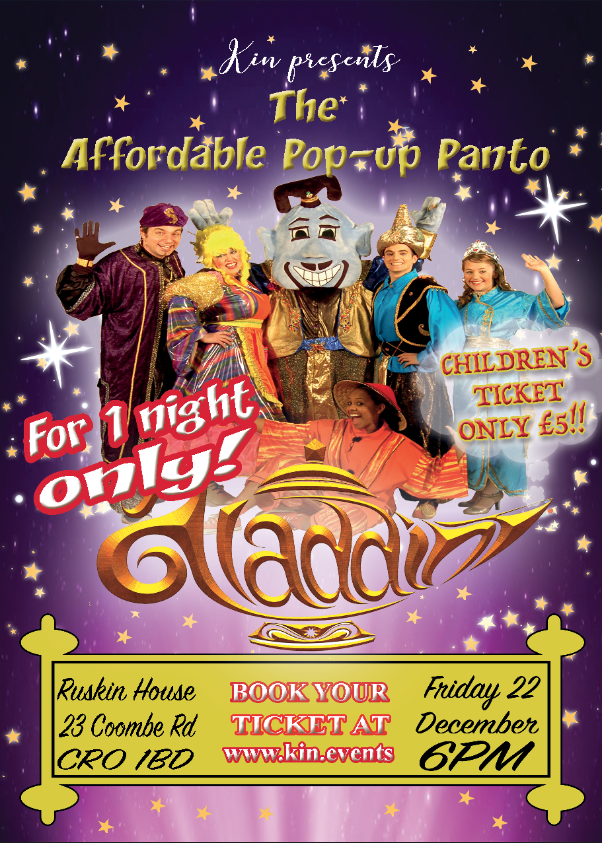 Kin Presents - The Affordable Pop-up Panto