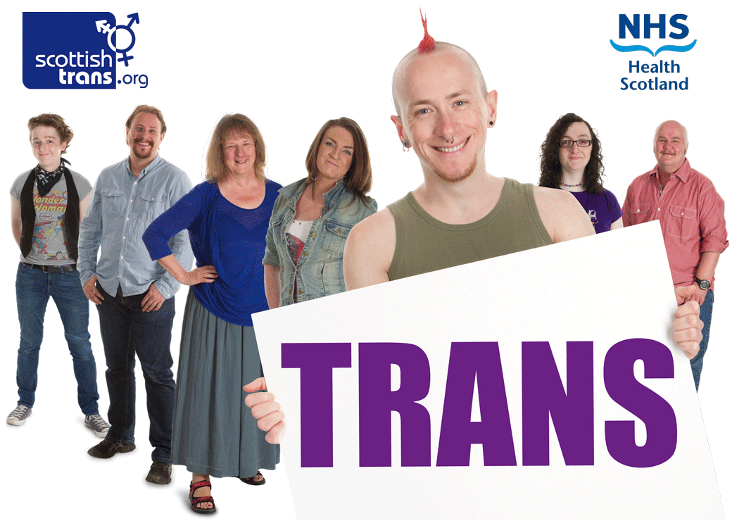 NHS trans poster image