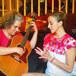 Cynthia Pedraza & Maria Olaya
