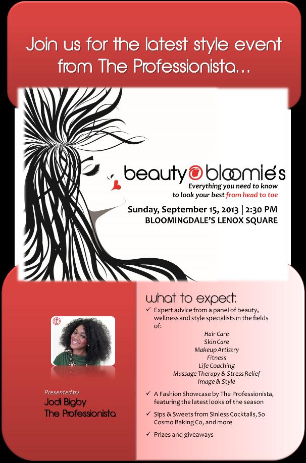 Beauty @ Bloomie's!