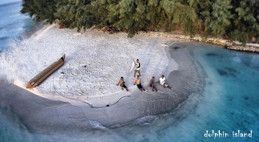 pulau dolphin pulau harapan
