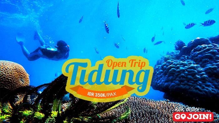 open trip pulau tidung kepulauan seribu selatan