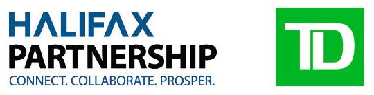 Halifax Partnership and TD Bank logos