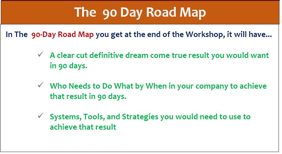 90 Day Road Map