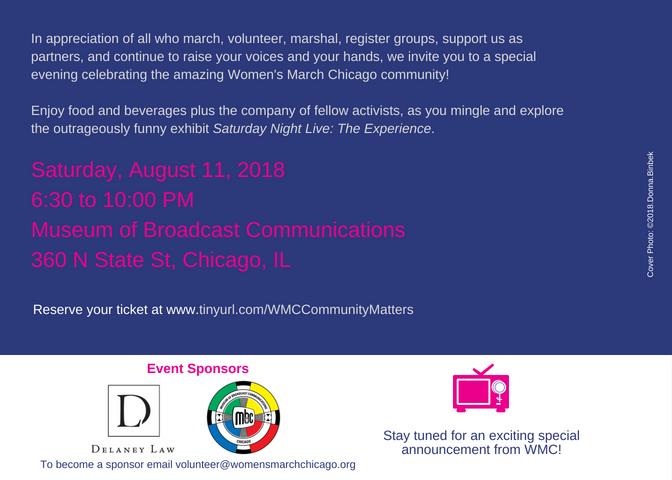 Aug 11 WMC Community Matters Inviation